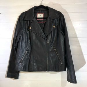 Tommy Hilfiger Leather Jacket Worn once